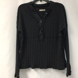 Free People buttoned top